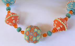 beaded bead necklace images Beaded jewelry by linda richmond downloadable bead patterns from jpg