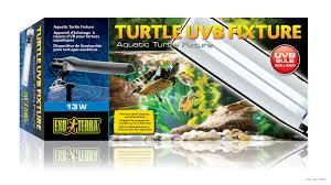 reptile fluorescent light fixtures exo terra turtle uvb fixture aquatic turtle fixture
