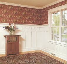 Wall Wainscoting Decor Half Wall Wainscoting Ideas With Wainscoting Colors Schemes