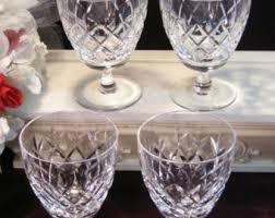 Fine Crystal Waterford Stemware Etsy