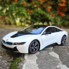 bmw i8 1 14 bmw i8 rc car authentic rc toy white or grey menkind