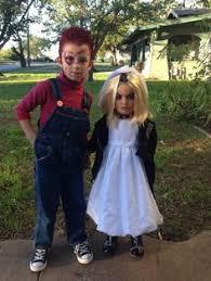 Chucky Bride Halloween Costume Chucky U0026 Bride Kids Costume Chucky Halloween Costumes Costumes
