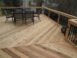 7 deck rail ideas for your cedar deck st louis decks screened