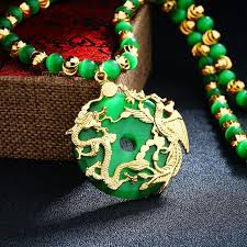 dragon jade necklace pendant images Dragon phoenix opal pendant fanduco jpg