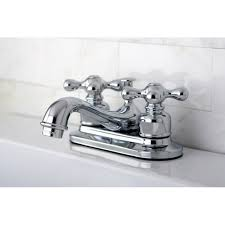 restoration 4 inch chrome center bathroom faucet free shipping