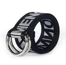 colorful designer 2017 men belts elastic luxury star nylon belt fabric unisex jeans