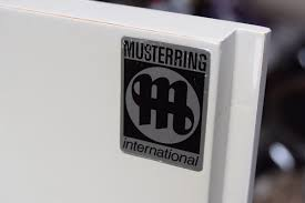 musterring vintage light grey cabinet from musterring international for sale