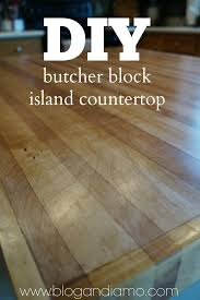 diy butcher block island countertop andiamo diy butcher block island countertop 9 05 2014