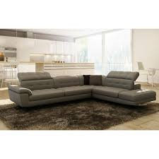 Nicoletti Leather Sofa by Living Room Nicoletti Tesla Italian Leather Sectional Sofa With