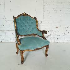Teal Colored Chairs by Furniture Rent Vintage Chicago