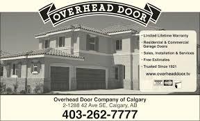 Overhead Door Company Calgary Overhead Door Company Calgary F25 On Wow Home Decoration Ideas