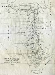 Texas Road Conditions Map Chisholm Trail Wikipedia