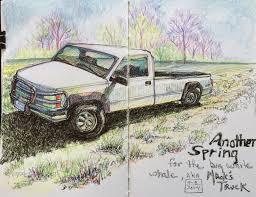sketching around april 2014
