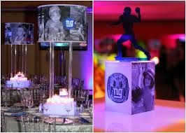 party centerpieces 10 ideas for a football theme bar bat mitzvah or party