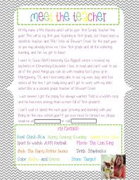 editable meet the teacher letter hopefully christmas end of the