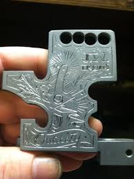 engraved tattoo machine frame by blksun on deviantart