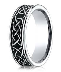 celtic knot wedding bands designer cobalt chrome wedding band with celtic knot