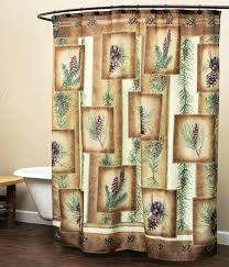 Cabin Shower Curtains Cabin Shower Curtains Teawing Co