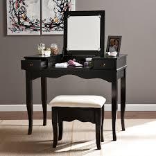 Bedroom Vanities For Sale Convenience Concepts Gold Coast Mirrored Desk Vanity Hayneedle