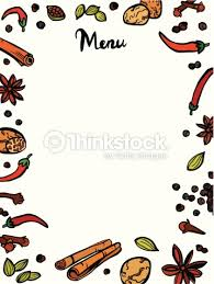 indian menu template stylish spices menu template vector thinkstock