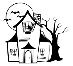 haunted house coloring pages printable coloringstar