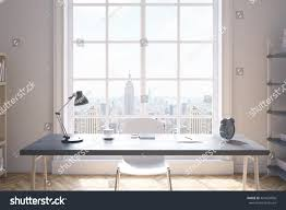 front view study room interior new stock illustration 461024056