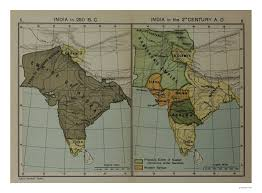 Map Of The World Bc by Sarmaya Your Window To The World Map Of India In 250 B C And