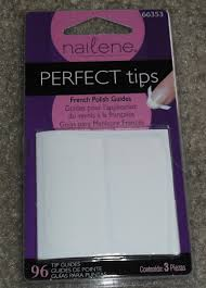 imperfectly painted nailene perfect tips