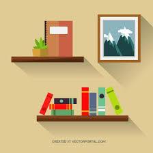 Free Bookshelves Graphics For Bookshelf Graphics Www Graphicsbuzz Com