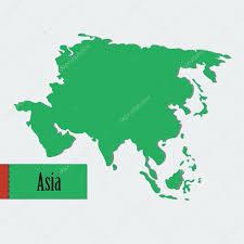 Map Icon Asia Green Map Icon U2014 Stock Vector Familyf 65688853