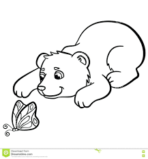 teddy bear coloring pages for preschoolers wild animals cute baby