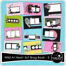 5x7 brag book at heart 5x7 brag book set 3 5 99 as you wish designs