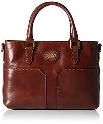 mini bureau the bridge s mini bureau donna tote bag brown braun brown