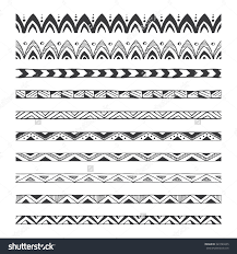 hand drawn vector borders design elements pattern brushes save