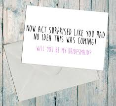ask bridesmaids cards bridesmaid will you be my asking cutecraftcabin