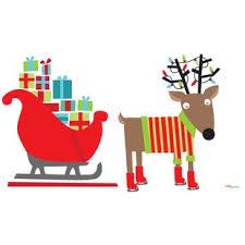 santa sleigh and reindeer santa sleigh and reindeer wayfair