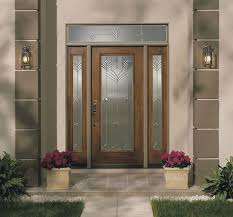 pillar designs for home interiors glass house entrance door brown wooden frame and silver makeovers