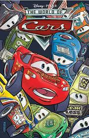 disney pixar diecast cars boom studios cars comic book issue 2