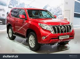 red land cruiser brussels jan 12 2016 toyota land stock photo 365938397 shutterstock