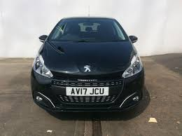 peugeot used car event used peugeot 208 12 puretech 82 black edition 3dr for sale in