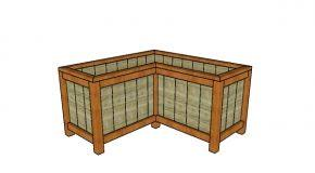 Wooden Planter Box Plans Free by Planter Myoutdoorplans Free Woodworking Plans And Projects