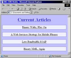developing wireless content using xhtml mobile