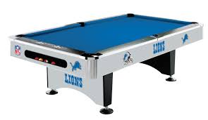 detroit lions pool table without logo on cloth standard idolza