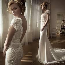 lihi hod wedding dress gorgeous lihi hod 2017 v neck sleeves slim sheath floor