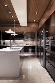 Modern Interior Design Kitchen Bright And Modern Kitchen With White Cabinets And Marble Details