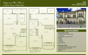 displaying house maps marla building plans online 40387