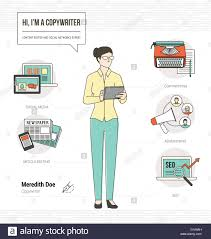 Copywriting Resume Professional Copywriter Infographic Skills Resume With Icons And