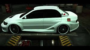 mitsubishi evo stance lancer evo ix mr stance nation hd youtube