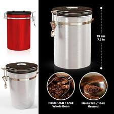 kitchen canisters stainless steel unbranded stainless steel kitchen canisters jars ebay
