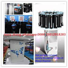 paint color mixing machine with manual dispenser paint color